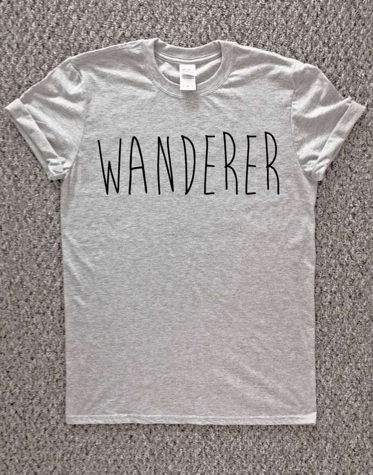 Pinterest: @carolinenorrisl  Wanderer Tshirt, free spirit t-shirt, adventurer tshirt, adventure, nature, outdoors, travelling, traveler tshirt, wandering, nomad t-shirt, by TheWatermelonFactory on Etsy https://www.etsy.com/listing/239900239/wanderer-tshirt-free-spirit-t-shirt