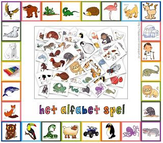 Kopje Thee(a): Het Alfabet Spel - DIY