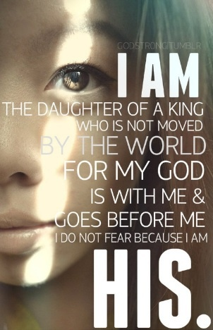 He is for me.  Who can be against me?