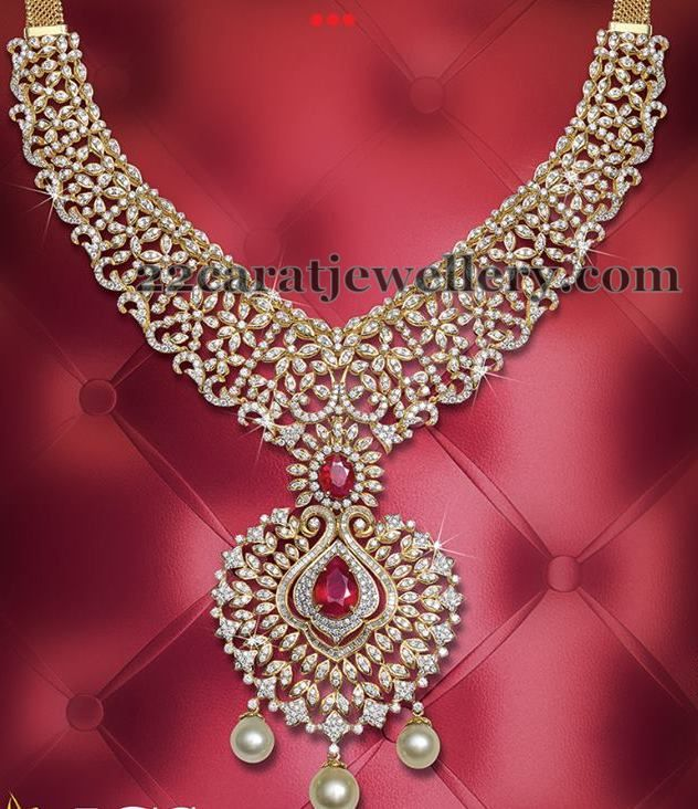Enchanting Diamond Set by JCS | Jewellery Designs