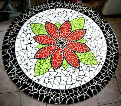 Resultado de imagen para mesa p cocina de mosaico