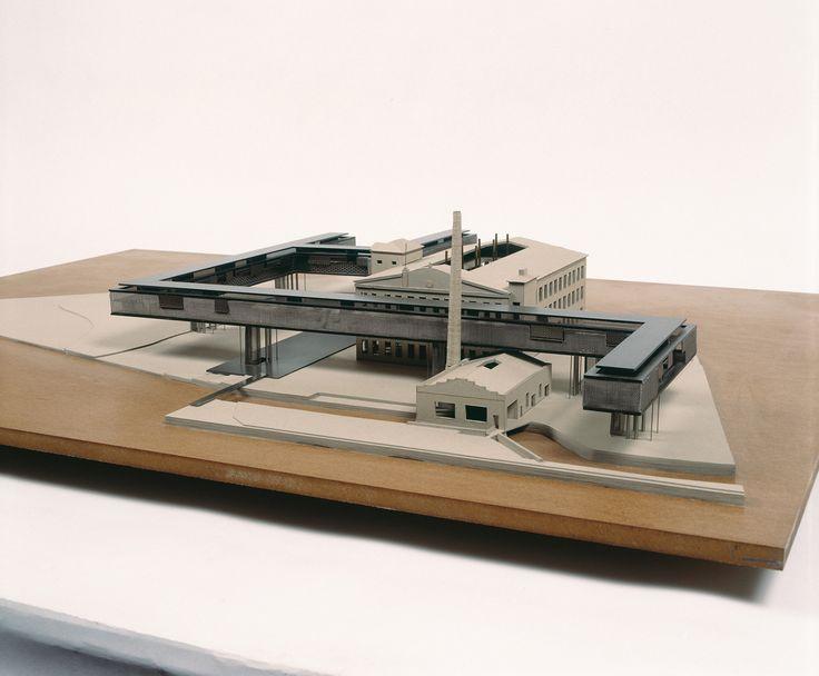 archimodels: © PAUHOF - new urban complex 'tuchfabrik' - linz, austria - 1991