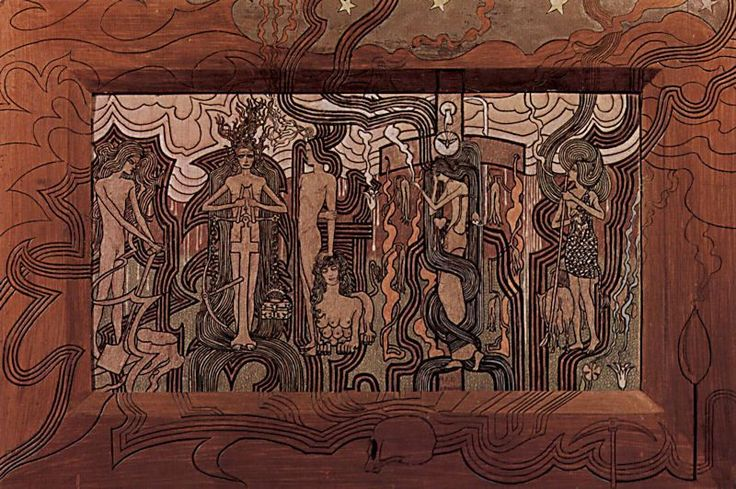 "Jan Toorop ""The Song of Time"