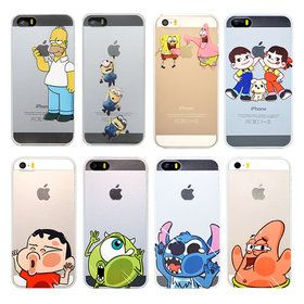 Gmarket - iPhone Character cases / Simpsons / SpongeBob / UV LED...