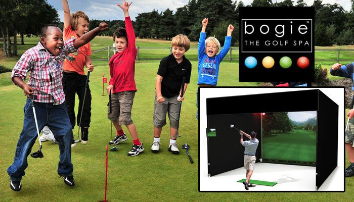 IS YOUR CHILD SPENDING TOO MUCH TIME GAMING? Well why not change the game. Book now for a session in our full sized golf simulator right here in Table View!  REAL CLUBS -  REAL BALLS - REAL SWING, but in the comfort of our indoors golf studio.  ONLY R200 per two hour session! Come on Mom spoil your child the good way!  JUST CLICK THIS IMAGE TO SEE MORE...   http://bogie.co.za/would-your-child-enjoy-learning-to-play-golf/