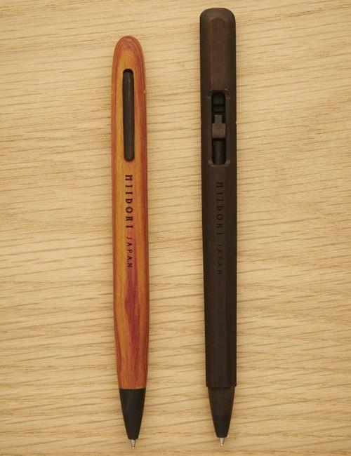 Miidori Wooden Pens - we love these.  #Innovation #Design #Ingenious
