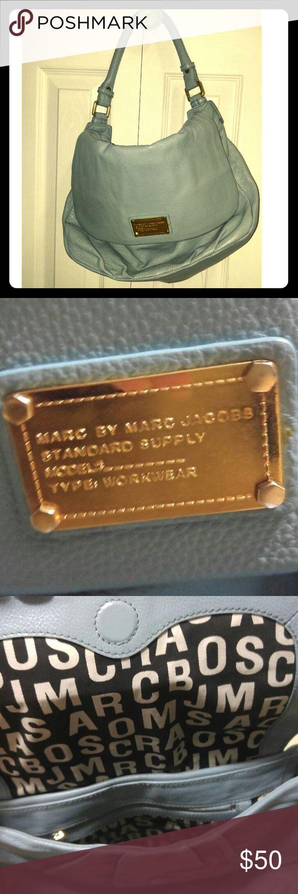 Marc by Marc Jacobs Handbag Periwinkle blue. Great handbag for work. Marc by Marc Jacobs Bags Shoulder Bags