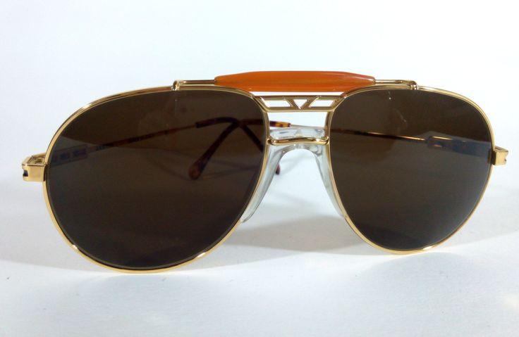 Arbiter Mod:6,Original Very Rare Vintage Aviator Sunglasses For Men made in Italy 1970s, Classic Aviator Triple Bridge Crossbar Sunglasses by KNVintageEyeglasses on Etsy