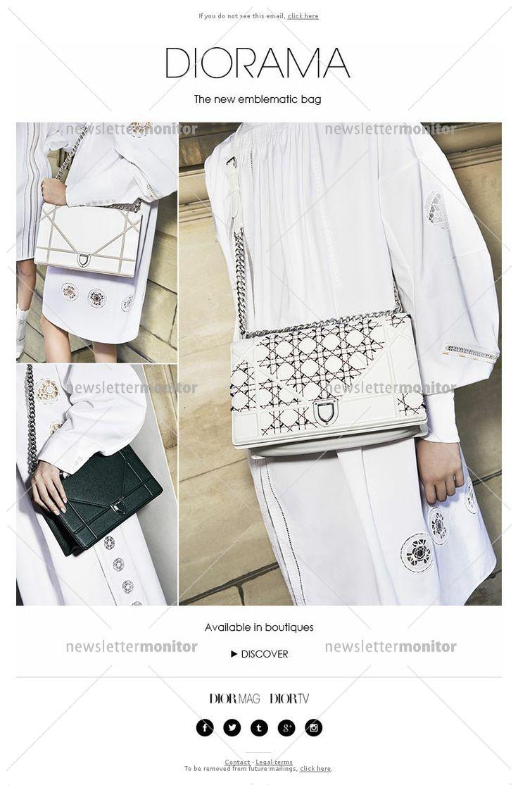 Diorama, the new signature bag