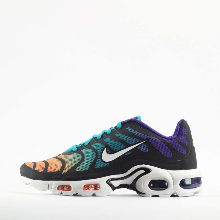 Nike Air Max Plus Hyperfuse Tuned TN  Mens Trainers Shoes Turbo Green/Black #Nike #CasualTrainersShoes