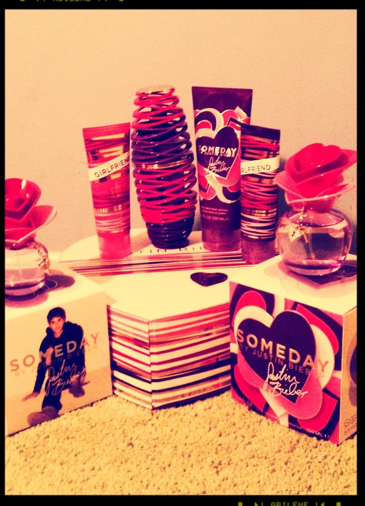 Justin Bieber perfumes!!!!!!!!