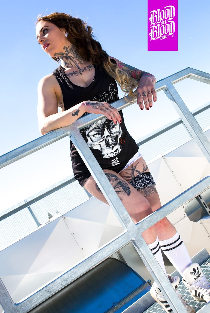 Womens Top (Tanktop) by Blood in Blood out Clothing. Foto by: Akira Black Photographie www.instagram.com/akiramenace/