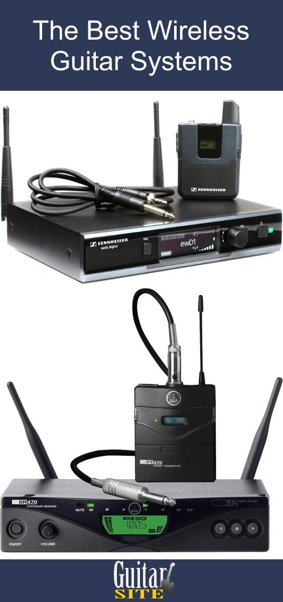 The Best Wireless Guitar System Review. This guide explains everything you need to know about wireless systems for guitar and provides a recommended list of the best systems to buy.