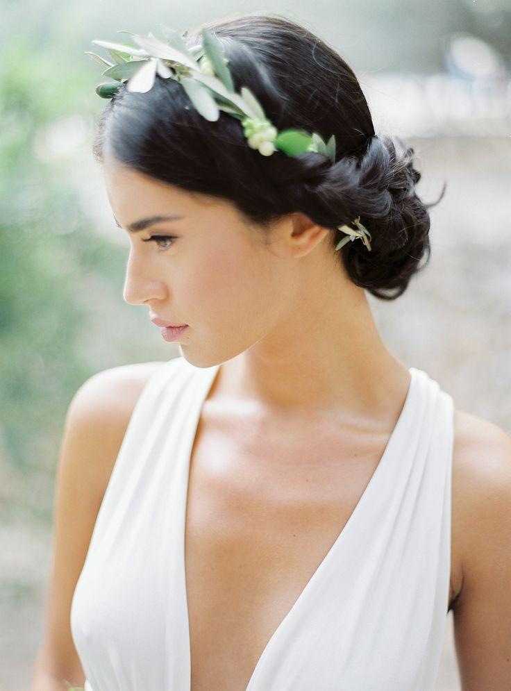 Wedding Dress: Parthenis - http://www.stylemepretty.com/portfolio/parthenis Photography: Sotiris Tsakanikas - sotiristsakanikas.com/   Read More on SMP: http://www.stylemepretty.com/destination-weddings/2017/01/20/wedding-inspiration-that-will-light-a-fire-under-your-wanderlust/