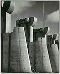 """""""Fort Peck Dam, Montana"""" Cover Photo for Life Magazine's First Issue, November 1936, by Margaret Bourke-White; Ford Motor Company Collection."""