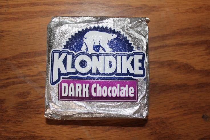 Dessert of the Day Dark Chocolate Klondike Bar Klondike