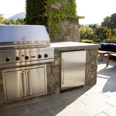 Outdoor Refrigerator Design, Pictures, Remodel, Decor and Ideas