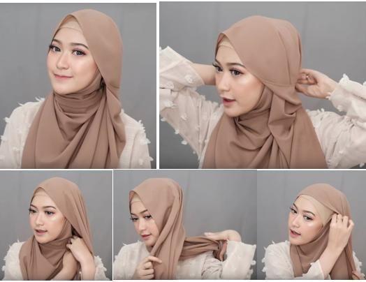 Bisa Dicontek Nih 7 Style Tutorial Hijab Pashmina Yang Menutupi Dada Gaya Hijab Kursus Hijab Wanita Bergaya