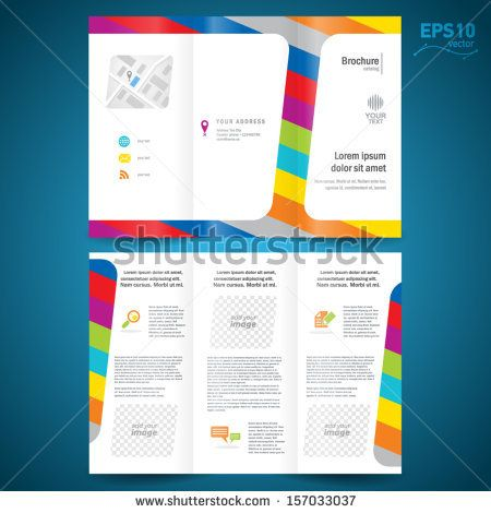 10 Best 브로셔 Images On Pinterest Brochures, Brochure Design   Free Microsoft  Word Flyer Templates  Free Microsoft Word Flyer Templates