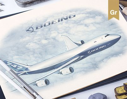 """Check out my @Behance project: """"Boeing"""" https://www.behance.net/gallery/40788061/Boeing"""