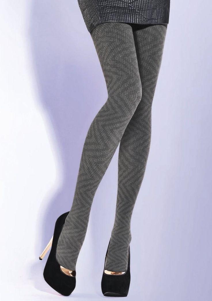 Dámské vzorované punčochové kalhoty Cassie