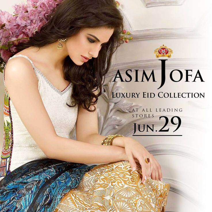Asim Jofa Luxury Eid Dress Collection 2015 http://clothingpk.blogspot.com/2015/06/asim-jofa-luxury-eid-dress-collection-2015.html