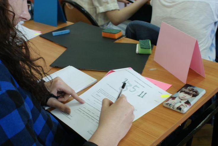 The work in full swing. #learningLatin #Latin #LatinHereAndNow