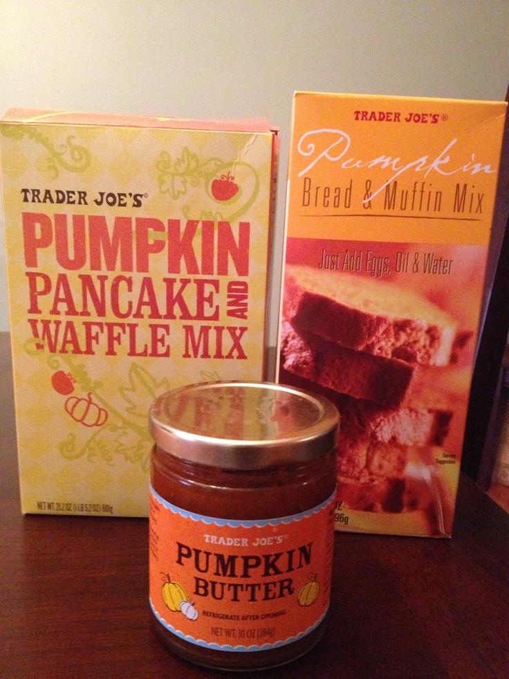 I love pumpkin pumpkin butter waffle mix trader joes