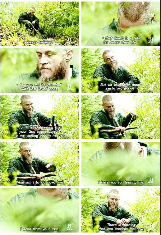 The whole scene was incredibly sad and heartbreaking, but when he realized that they'll never meet again..i was crying af, like i was watching LOTR or something. :D