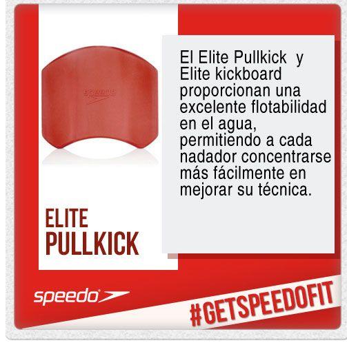 Elite Pullkick diseñado para una flotabilidad óptima. Mejora la fuerza y la técnica. Diseño que ahorra espacio y funciona como un PullBuoy o una KickBoard. Diseñado para mayor comodidad y un soporte superior en las muñecas.
