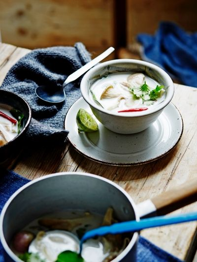Turkey & coconut milk soup | Jamie Oliver