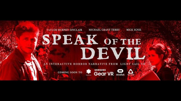 "#VR #VRGames #Drone #Gaming Interactive VR Horror Film ""SPEAK OF THE DEVIL"" - Trailer #3D, 360 video, daydream, gearvr, Horror, interactive, movie, Oculus, virtual reality, vive, vr videos ##3D #360Video #Daydream #Gearvr #Horror #Interactive #Movie #Oculus #VirtualReality #Vive #VrVideos https://datacracy.com/interactive-vr-horror-film-speak-of-the-devil-trailer/"