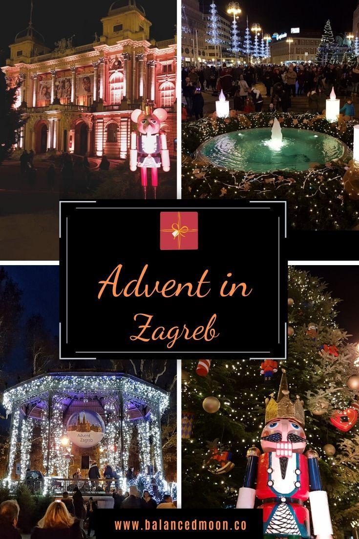 Winter Travel Destinations Advent In Zagreb Winter Travel Destinations Christmas Holiday Destinations Christmas Destinations