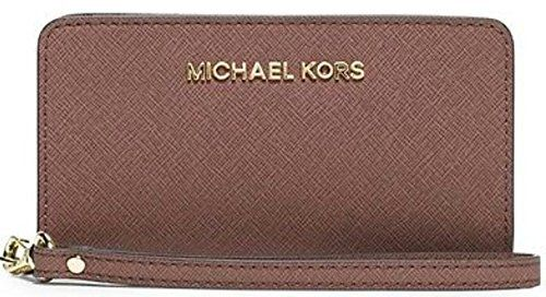 Michael Kors Jet Set Travel Slim Tech Wristlet, Dusty Rose