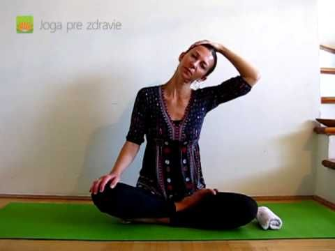 Cviky na krčnú chrbticu - Video: Joga pre zdravie - YouTube