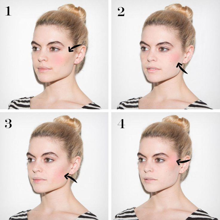 How to Apply Blush in 4 Steps - Best Blush Brush Tips