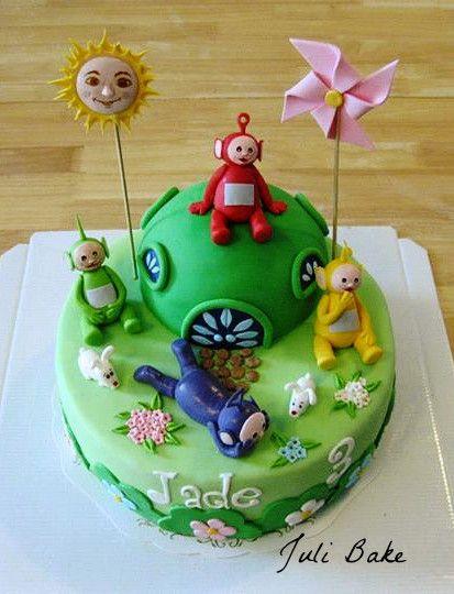 Teletubbies cake                                                                                                                                                                                 More