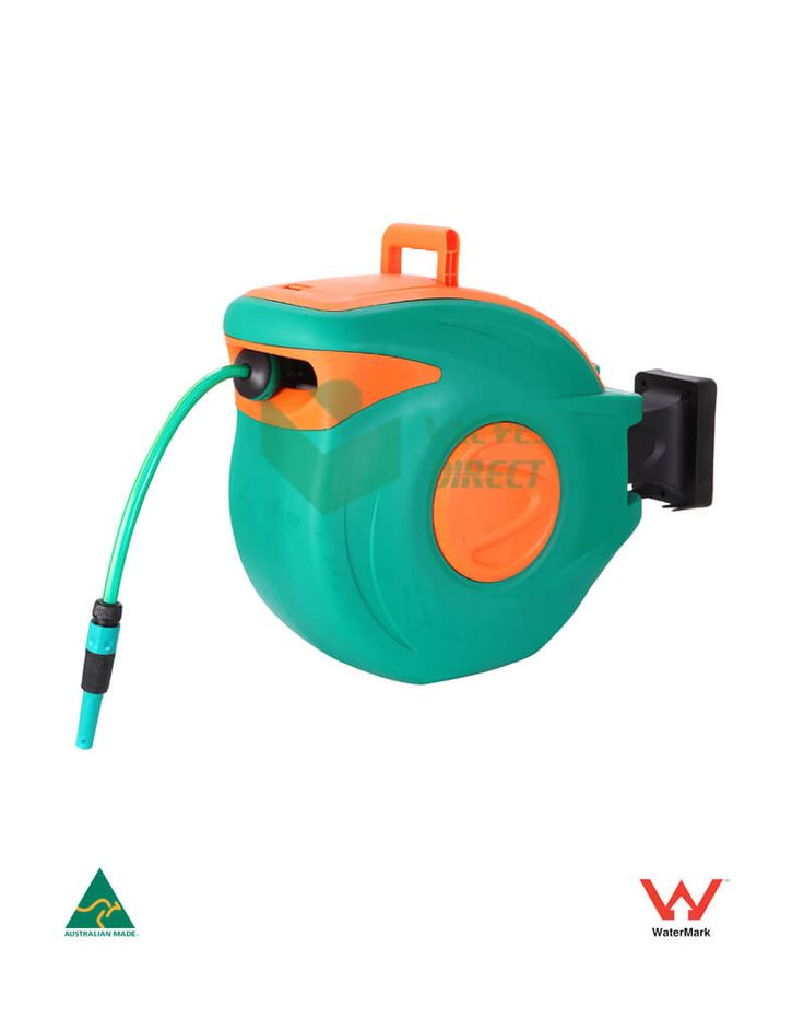 30m Automatic Retractable Garden Hose Reel – 2m Input Hose
