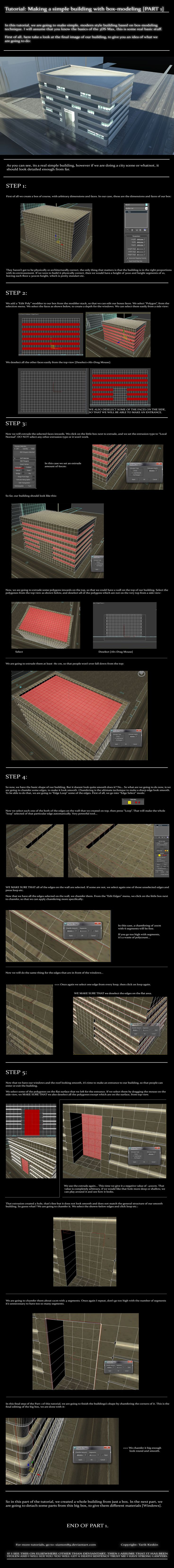 Box Modeling A Building Pt.1 by =Siamon89 on deviantART