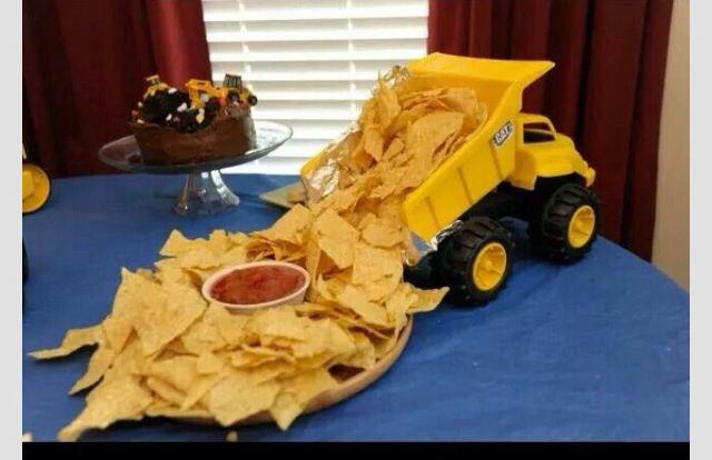 Tonka Truck party
