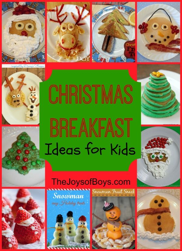 These Christmas Breakfast ideas for kids are not only fun but really easy to make. Make your holidays even more magical with these fun breakfasts.