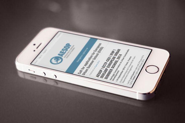 Κατασκευή ιστοσελίδας με Twitter Bootstrap για τον σύλλογο της AESOP