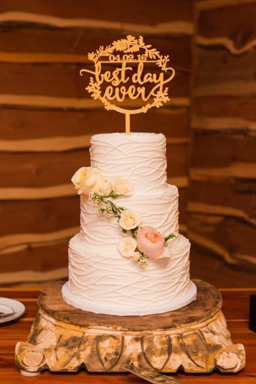 Austin Texas Ranch Wedding Rustic Cakesrustic