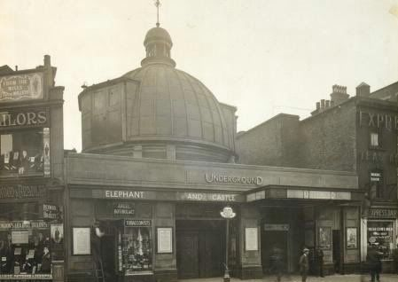 Lost London - Elephant and Castle Tube Station undated