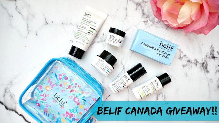 Giveaway: Belif Skincare Set*