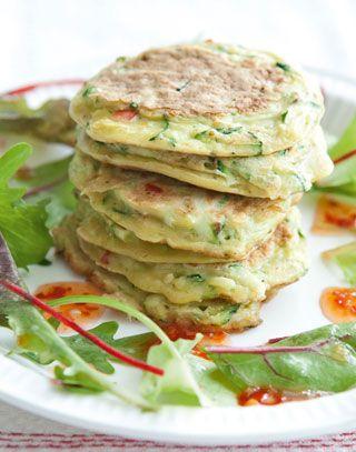 Zucchini Küchlein - gesund  einfach #Essen