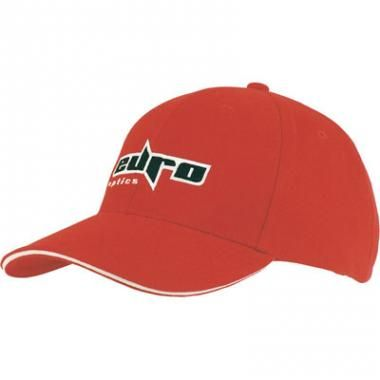 Promotional Baseball Cap-Low Profile Baseball Cap Sandwich Trim Structured 6 Panel Baseball Cap available in 19 colours :: Clothing and Textiles :: Promo-Brand Merchandise :: Promotional Branded Merchandise Promotional Products l Promotional Items l Corporate Branding l Promotional Branded Merchandise Promotional Branded Products London