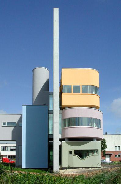 Wall HousebyJohn Hejduk(2001)  Groningen, Netherlands