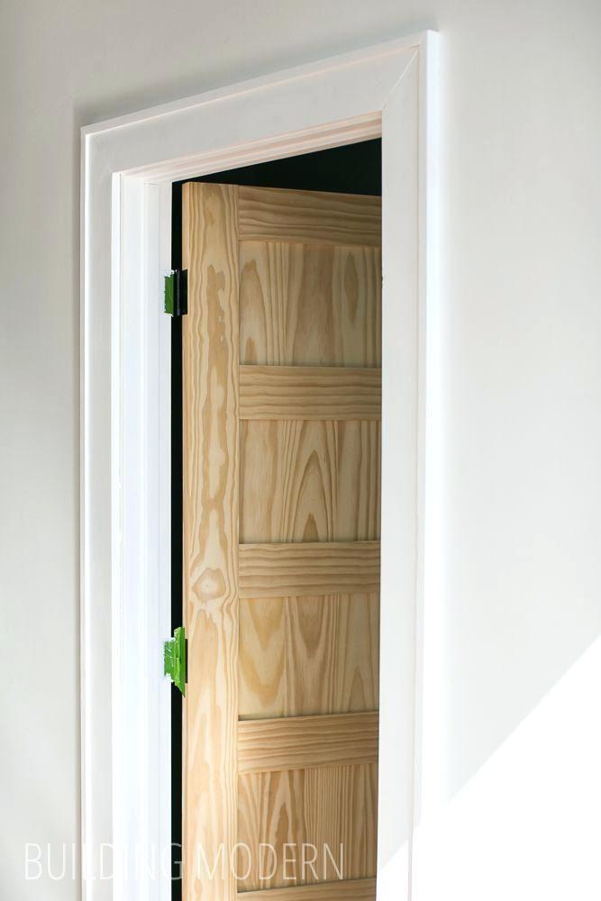 Modern Door Casing A New Door And Trim Modern Door Casing Ideas In 2019