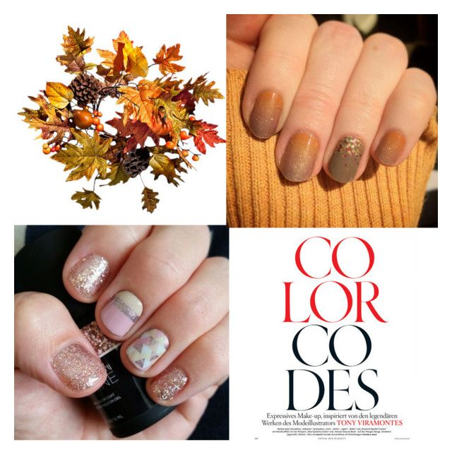 Fall Nail Trends by dazzlewithjams on Polyvore featuring polyvore fashion style Improvements clothing